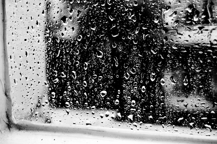  Rain at the window Eisenacher Str. Berlin 2009 by Fritsch
