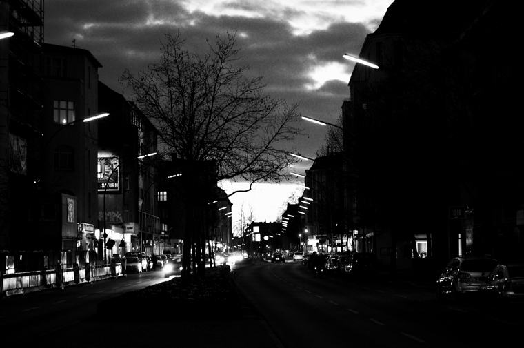 © Evening on Grunewaldstr. Berlin 2009 by Fritsch