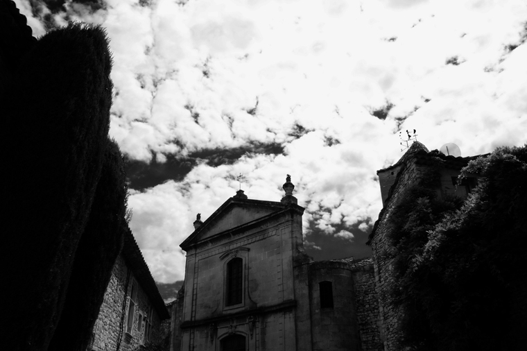 © medieval Church Vaison-La-Romaine by Fritsch, 2008
