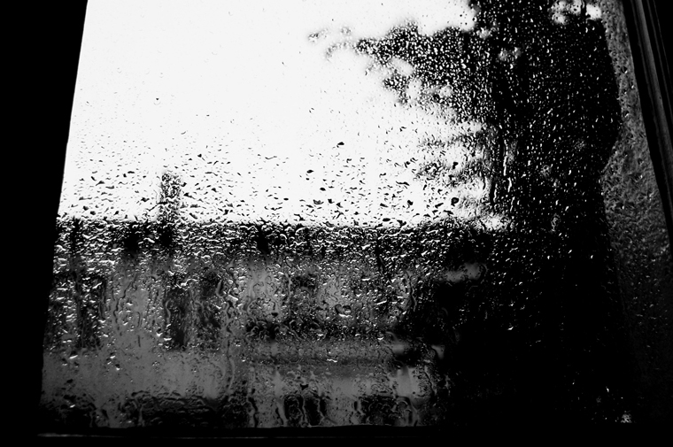 © Rain at the window Berlin 2009 by Fritsch 2009