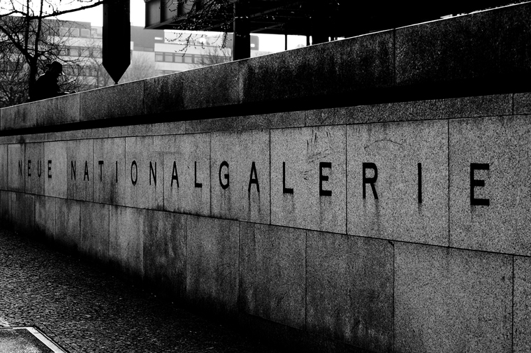 © Neue Nationalgalerie Berlin 2009 by Fritsch