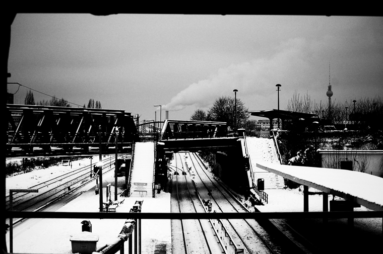 © Ostkreuz platforms Berlin 2010 by Fritsch