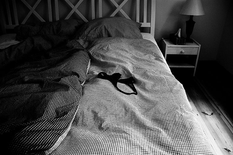 © Unmade bed, 2010 by Fritsch