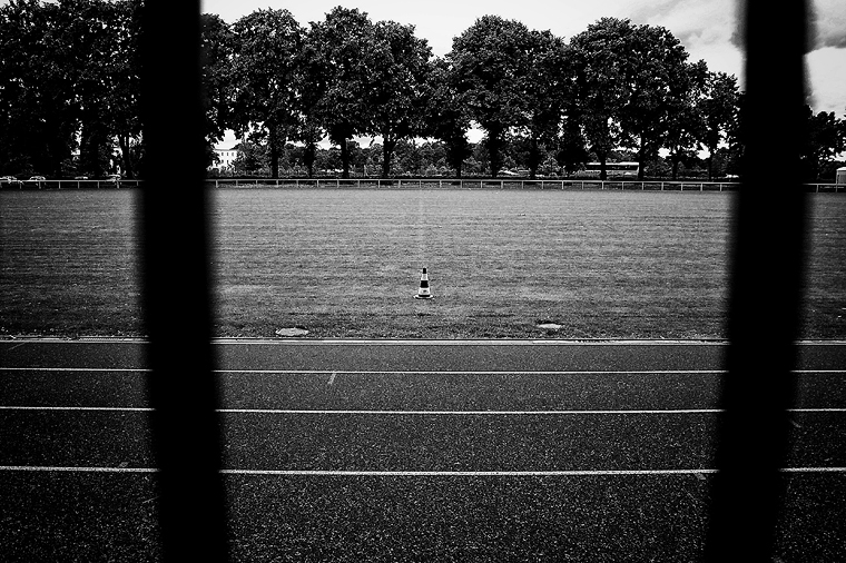© Traffic cone, Oranienburg 2011 by Fritsch