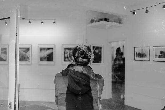 © Selbstportrait mit Dame, Hamburg, 2016, Florian Fritsch