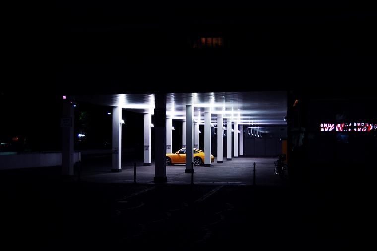 Parking lot Badensche Str. Berlin 2009